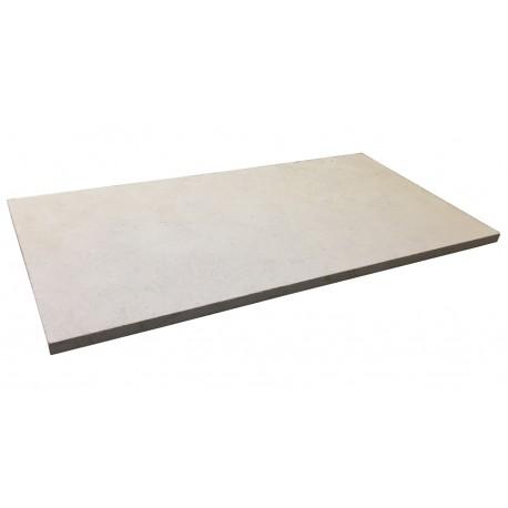 Dalle en pierre naturelle sinai pearl sablé 80 x 40 x 2 cm