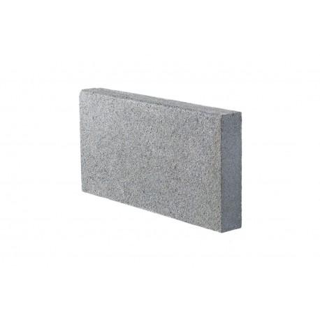 Bordure de jardin en pierre naturelle granit G654 50 x 6 x 25 cm