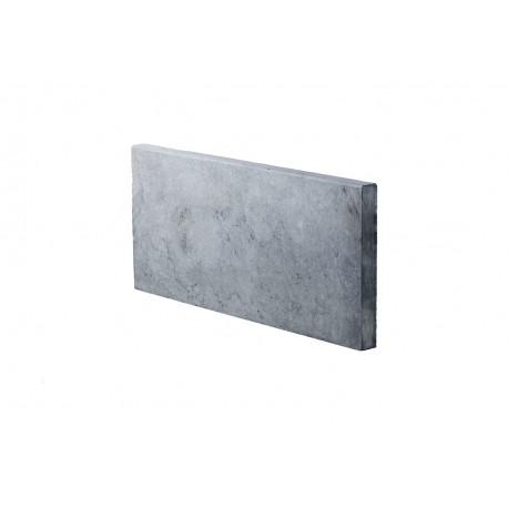 Bordure en pierre naturelle bleue 50 x 23 x 3 cm