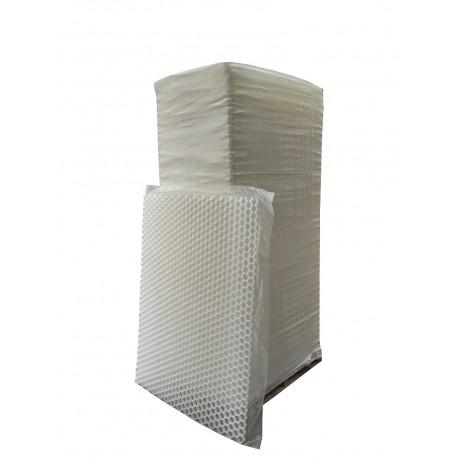 Palette de dalle stabilisatrice de gravier épaisseur 4 cm de côté
