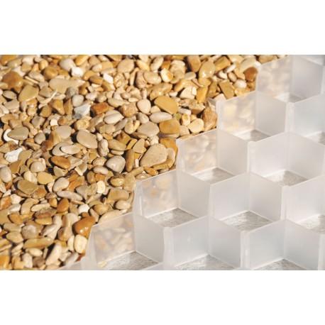Palette de 9 m2 de dalles stabilisatrices de gravier 120 x 80 x 2,6 cm