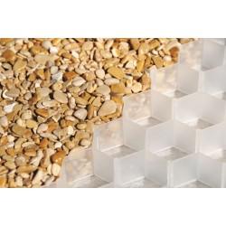 Palette de 18 m2 de dalles stabilisatrices de gravier 120 x 80 x 2,6 cm
