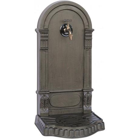Fontaine de jardin en fonte Eva 36 x 31 x 75 cm rouille