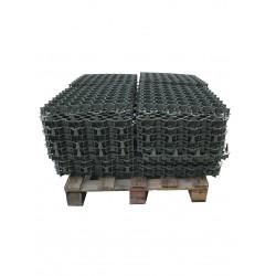 Palette de 10,12 m2 de dalles à engazonner 47 x 47 x 3,9 cm, résistance : 3,5 tonnes
