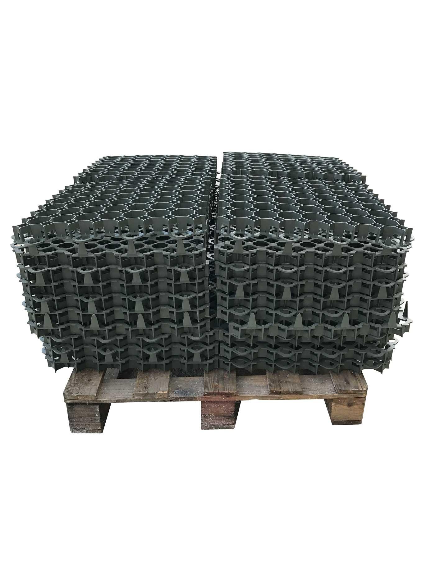 dalle en pvc engazonner stella green 50 x 50 cm ep 3 9 cm 2 5 t lot 10 m. Black Bedroom Furniture Sets. Home Design Ideas