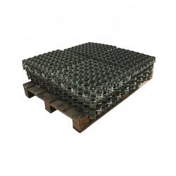 Dalle à engazonner 47 x 47 cm ép.3,9 cm 3,5 T lot de 5,06 m²