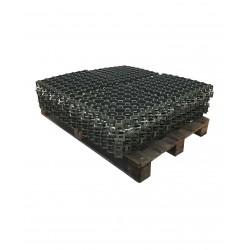 Palette de 5,06 m2 de dalles à engazonner 47 x 47 x 4,9 cm, résistance : 3,5 tonnes