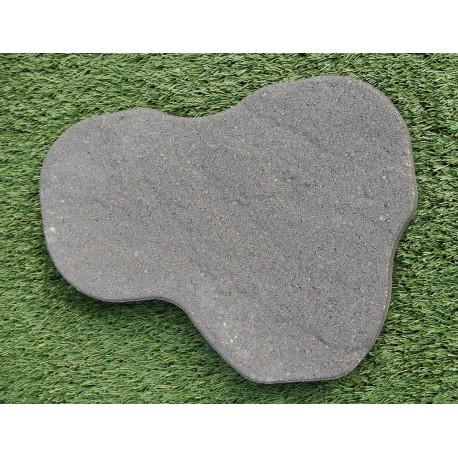 Pas japonais de jardin en béton gris foncé 47 x 35 x 4,5 cm