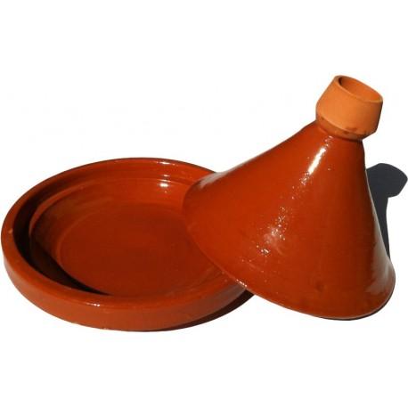 Plat tajine terre cuite 29 cm