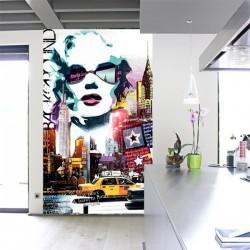 Poster géant suspendu MARILYN