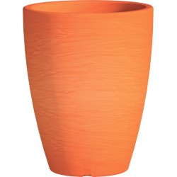 Jardinière en polypropylène Adone Round orange