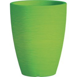 Jardiniere en polypropylène conique Adone Round 30 x 30 x 38 cm vert