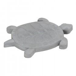 Pas japonais en pierre reconstituée animaux tortue gris clair