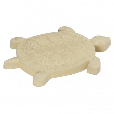 Pas japonais de jardin en pierre reconstituée animaux tortue camel 30 x 28 x 3 cm