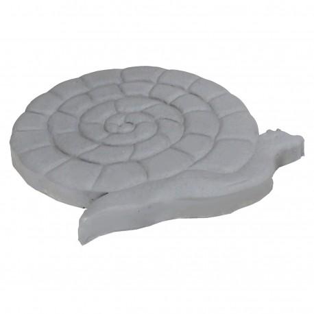 pas japonais en pierre reconstitu e animaux grenouille gris clair. Black Bedroom Furniture Sets. Home Design Ideas