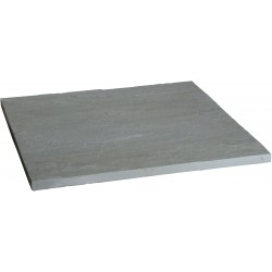 Dalle en pierre naturelle Kandla Grey Brut 60 x 60 x 2,5 cm