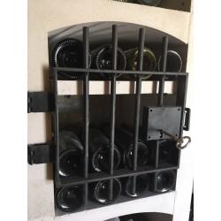Grille en acier pour casiers à bouteilles Vinicase format VC