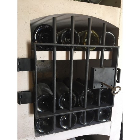 Grille en acier pour casiers à bouteilles Vinicase format VB