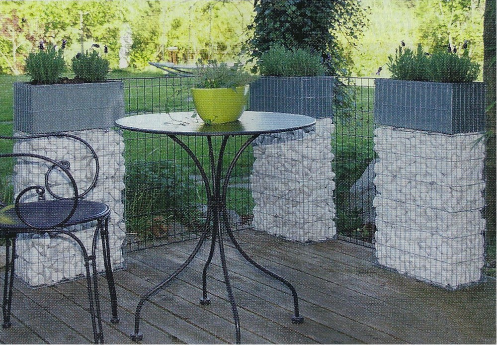 brise vue en gabion great gabion zenturo super with brise vue en gabion perfect gabion gabion. Black Bedroom Furniture Sets. Home Design Ideas