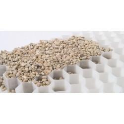 Palette de 9,6 m2 de dalles stabilisatrices de gravier 120 x 80 x 3 cm