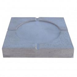 Dalle stabilisatrice pour plot en béton 28 x 28 x 5 cm