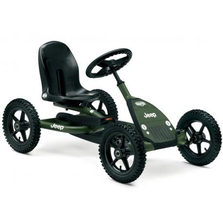 Kart à Pédales pour enfant JEEP JUNIOR kaki