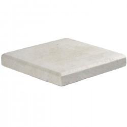 Margelle en pierre naturelle bord chanfreiné angle sortant 60 x 25 x 3 cm