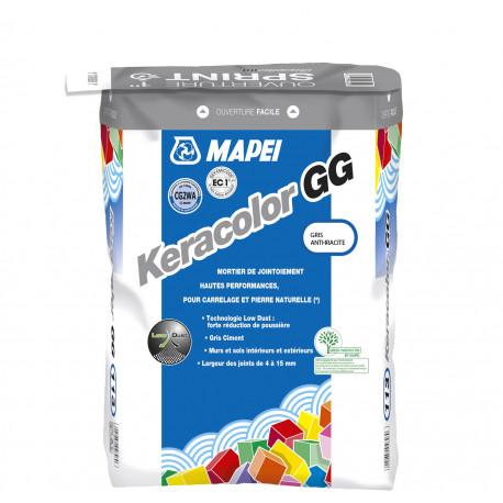 Joint KERACOLOR GG MAPEI sac de 25 kg ton gris anthracite