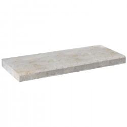 Margelle en pierre naturelle bord chanfreiné droite 60 x 25 x 4 cm