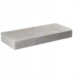 Margelle en pierre naturelle bord chanfreiné droite 60 x 25 x 8 cm