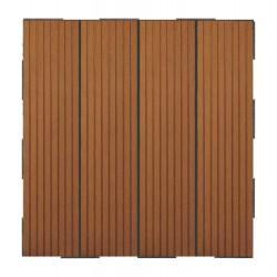 Dalle Terrasse Composite à Clipser Brun