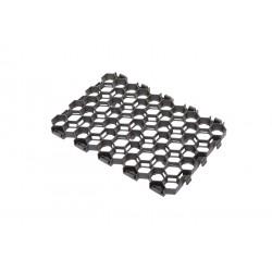 Palette de 9,66 m2 de dalles à engazonner 54,5 x 38 x 3,2 cm gris anthracite, résistance : 170 T/M2