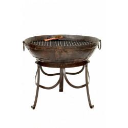 Barbecue KADAI 60 cm en acier recyclé