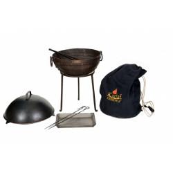Kit barbecue 40 cm KADAI et ses accessoires