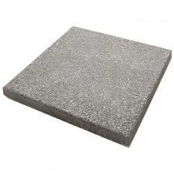 Dalle de terrasse en béton grenaillée 40 x 40 x 4 cm gris anthracite par palette de 8,96 m2