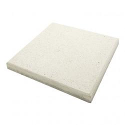 Dalle de terrasse en béton grenaillée 40 x 40 x 4 cm blanc par palette de 8,96 m2
