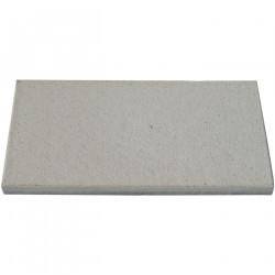 Dalle de terrasse en béton grenaillée 60 x 30 x 4 cm gris clair par palette de 6,84 m2
