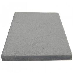 Dalle de terrasse en béton grenaillée 60 x 40 x 4 cm gris clair par palette de 8,64 m2