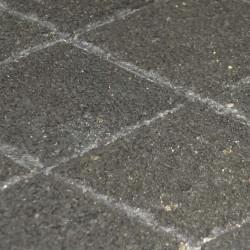 Pavé en béton drainant 12 x 12 x 6 cm basalte par palette de 6,46 m2