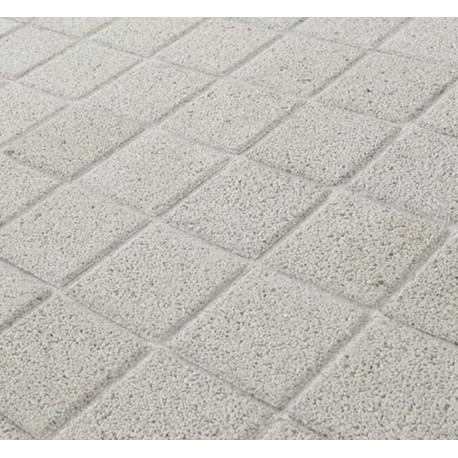 Pavé en béton drainant 12 x 12 x 6 cm ton pierre par palette de 6,46 m2