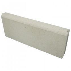 Bordure de jardin en béton pressé 50 x 5 x 20 ton pierre