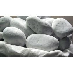 Galets de Marbre Blanc 60 / 100 mm