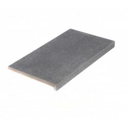 Margelle de piscine en grès cérame Basaltino 60 x 35 x 2-4 cm