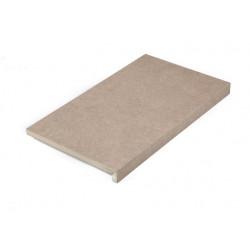 Margelle de piscine en grès cérame Biscuit beige 60 x 35 x 2-4 cm