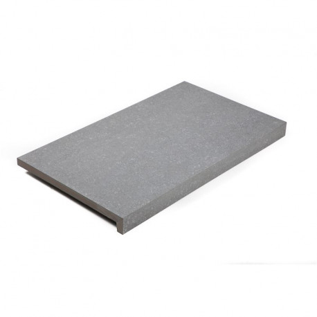 Margelle de piscine en grès cérame Bluestone Light Grey 60 x 35 x 2-4 cm