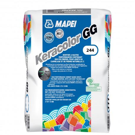 Joint KERACOLOR GG MAPEI sac de 25 kg ton gris clair rustic