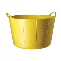 Tubtrug panier de jardin flexible 75L jaune fluo - POLET