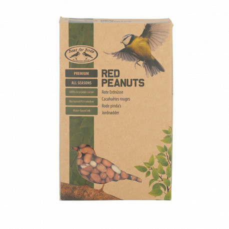 Boite d'arachides rouges 4 saisons pour oiseaux