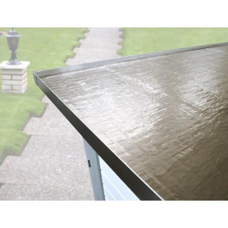 Rouleau de membrane de toit auto-adhésive anthracite - 5 m²