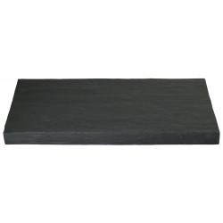 Margelle en pierre reconstituée droite 53,5 x 25 x 4 cm schiste